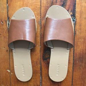 Old navy boardwalk sandal size 8 worn 3x!